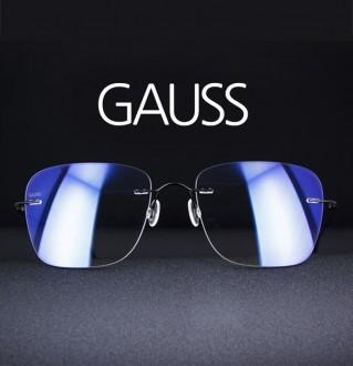 179[X-BLUE] GAUSS, Designed by Germany 蓝色遮光眼镜/太阳镜