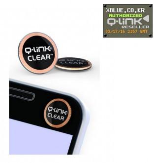 [X-BLUE]Q-Link Clear Black 智能手机用胶纸 黑色