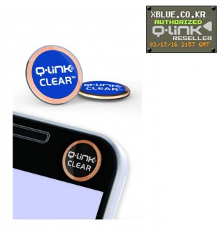 [X-BLUE]Q-Link Clear Blue 智能手机用胶纸 藍色
