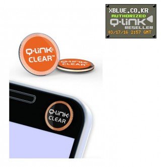 [X-BLUE]Q-Link Clear Orange 智能手机用胶纸 橙色