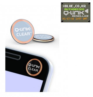 [X-BLUE]Q-Link Clear Sleek Blue 智能手机用胶纸 流线型蓝色