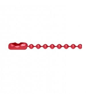 [X-BLUE]Q-Link Red Bead Chain 红珠链条队列红色珠子链条