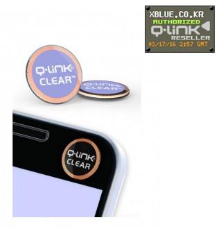 [X-BLUE]Q-Link Clear Violet 智能手机用胶纸 紫紫红