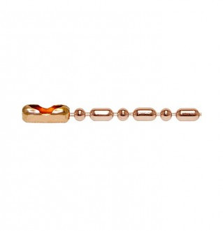 [X-BLUE]Q-Link Copper Bead-Bar Chain 铜珠酒吧链条队列铜珠 - 棒链条