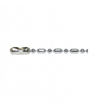 [X-BLUE]Q-Link Sterling Silver Bead-Bar Chain 纯银珠酒吧链条队列纯银串珠链杆