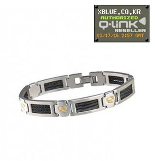 [X-BLUE]Q-Link bracelet Men Executive 男性用手镯