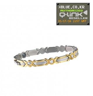 [X-BLUE]Q-Link bracelet Women Executive 女性用手镯