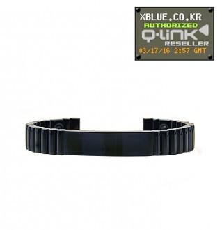 [X-BLUE]Q-Link bracelet Black Titanium 手镯 黑钛