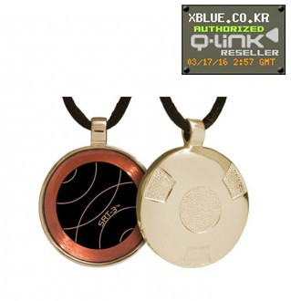 [X-BLUE]Q-Link pendant Gold Retro Polished 项链坠