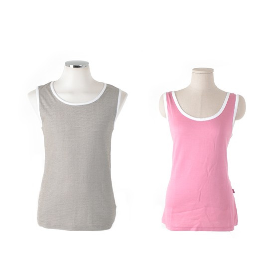 [X-BLUE]EMF Shield Sleeveless Blouse 盾无袖衬衫电磁屏蔽无袖Ť恤衫