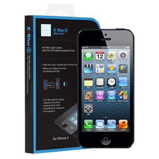 [X-BLUE]Apple iPhone 5/5S/5C/SE 抗蓝光钢化膜