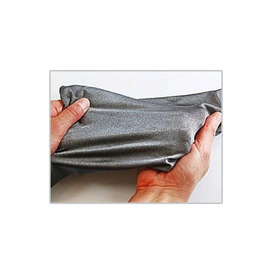 [X-BLUE]Stretch Conductive Fabric 电磁波切断布料弹力导电布的电磁波屏蔽织物 - 高弹性面料